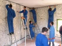 ремонт стен помещений Абакан